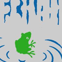 2011年度版オリジナル手ぬぐい「蛙」